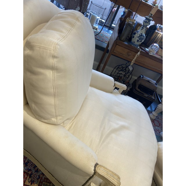 White 1960s Vintage Lounge Set - 3 Pieces For Sale - Image 8 of 9