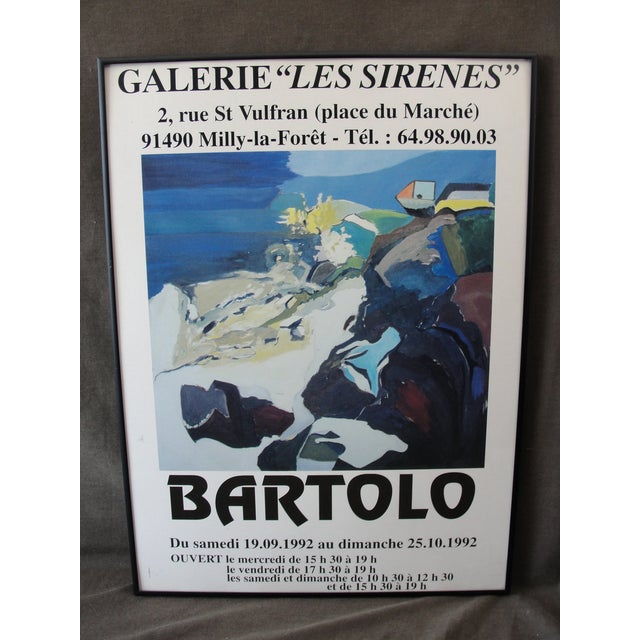 1992 Galerie Les Serine Poster by Bartolo - Image 2 of 7