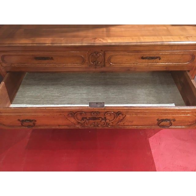 Mid 18th Century French Louis XV Provencal Period Four Drawer Chest For Sale - Image 5 of 12