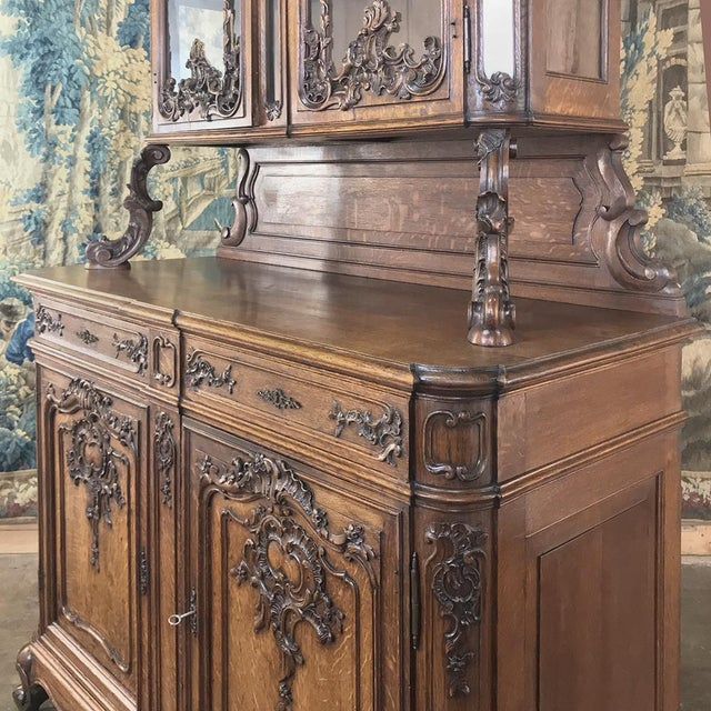 Brown 19th Century Liegeois China Buffet For Sale - Image 8 of 13