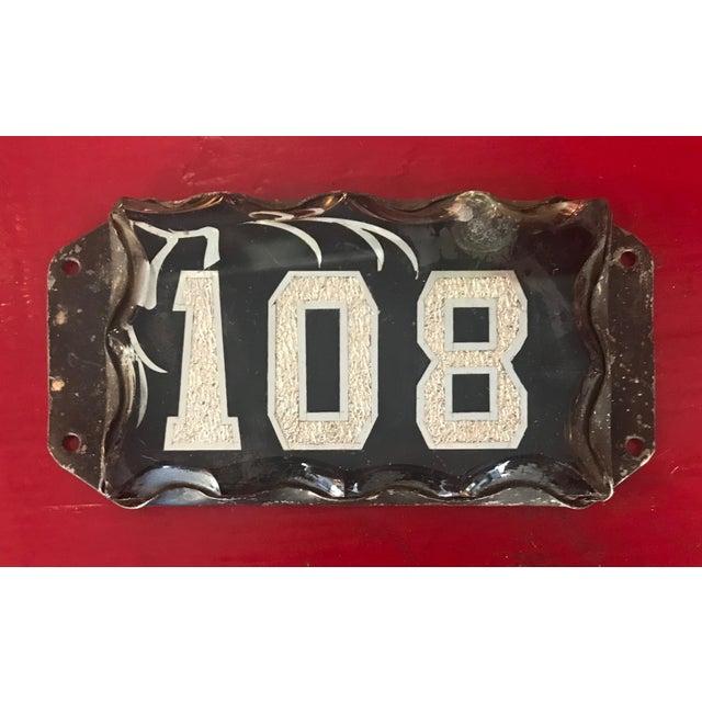 Victorian Era Beveled Glass Address Plaque For Sale - Image 10 of 10