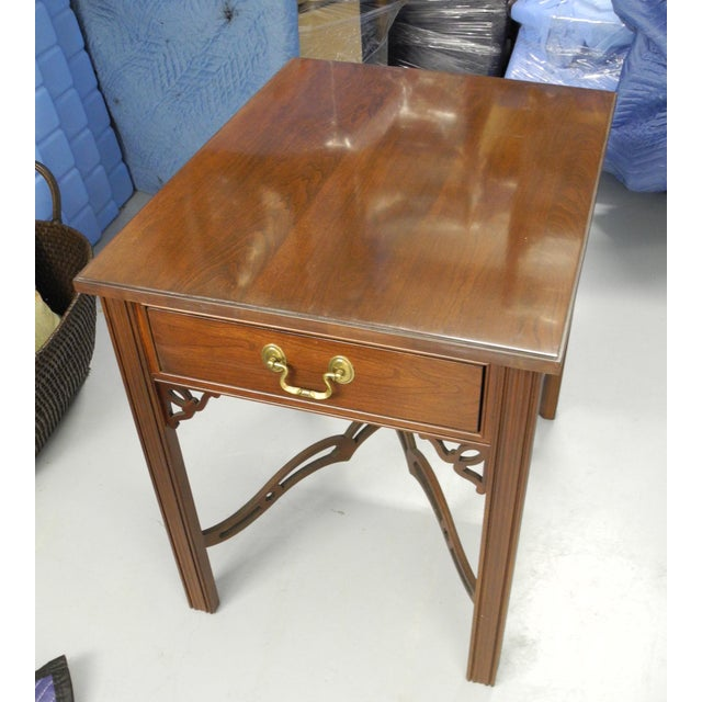 Ethan Allen Georgian Court Side Table - Image 2 of 3