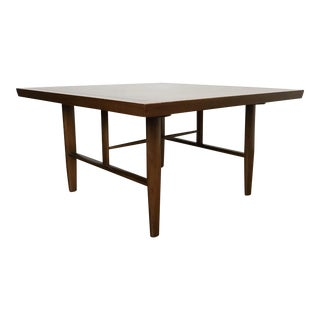 1950s Mid-Century Modern George Nakashima Wooden Square Table