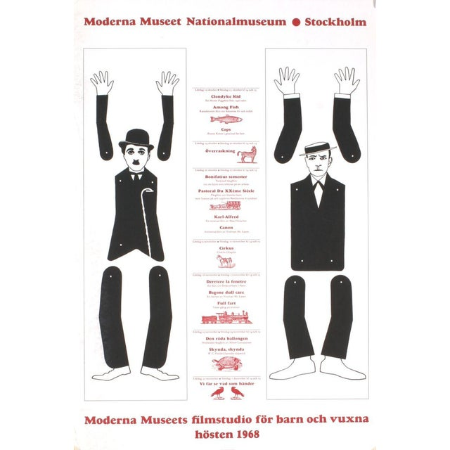 1968 Red Grooms Moderna Museet Stockholm Lithograph - Image 2 of 2