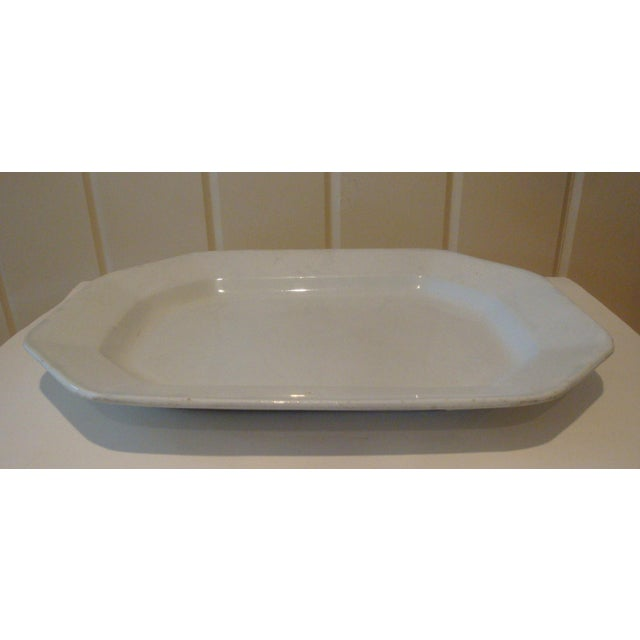 Antique English Ironstone Serving Platter - Image 2 of 4