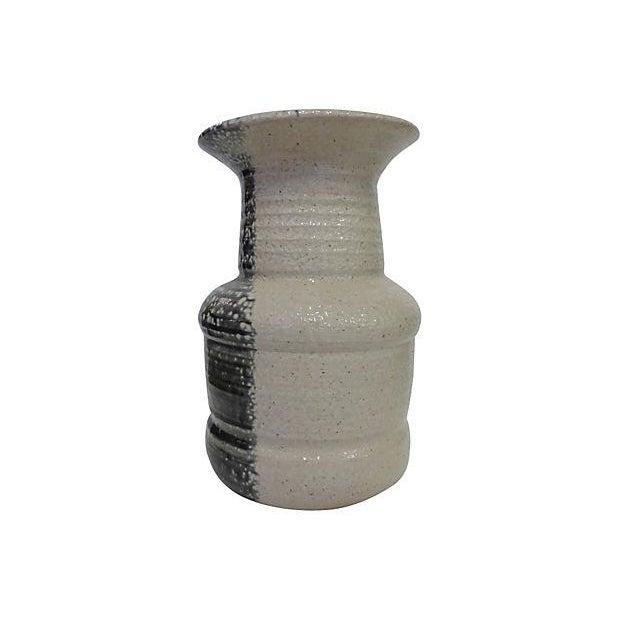 Handmade Pottery Vase, Signed - Image 1 of 5
