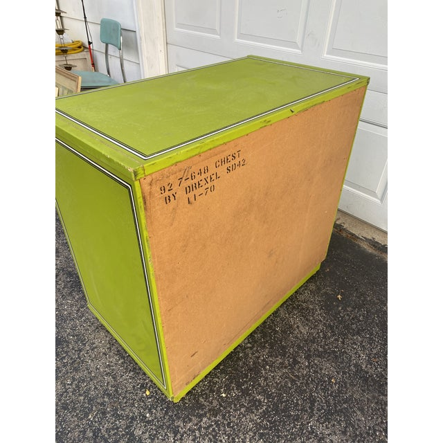 Mid 20th Century Drexel Peter Max Inspired Small Dresser For Sale - Image 11 of 12