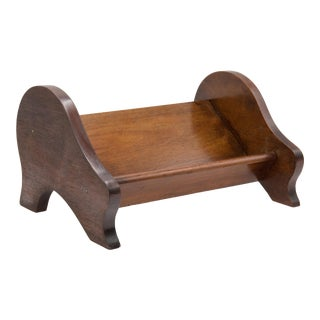 Antique English Walnut Tabletop Book Stand For Sale