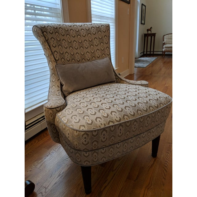 Art Deco-Inspired Accent Chairs by Thomasville - A Pair For Sale In Philadelphia - Image 6 of 11