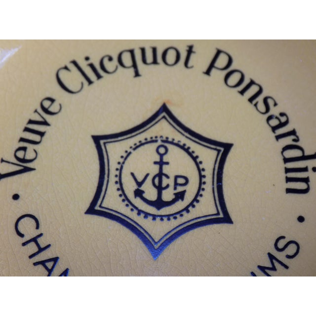 Vintage French Veuve Clicquot Plate - Image 7 of 8