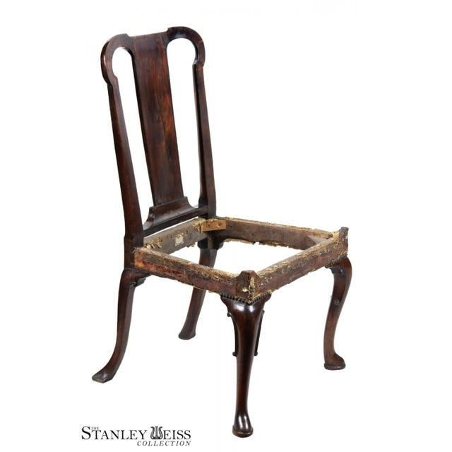 Mahogany Queen Anne Side Chair - Image 5 of 10