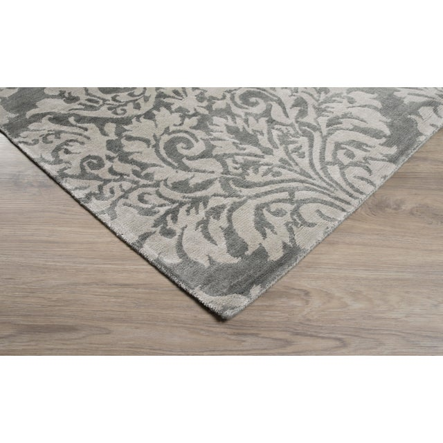 Stark Studio Rugs Contemporary New Oriental Rug - 10 x 14, 100% Bamboo Silk To care for your rug, it's best to have your...