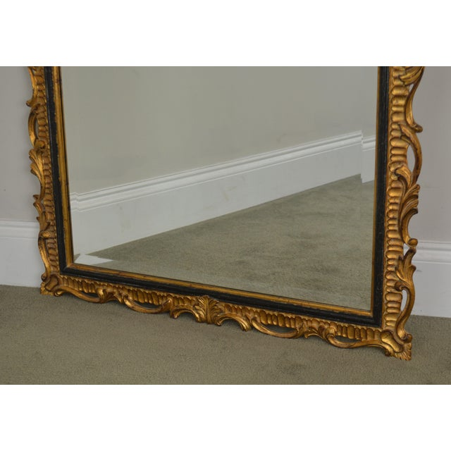 Dauphine Harrison & Gil Gold Gilt Wood Rococo Carved Wall Mirror For Sale - Image 12 of 13