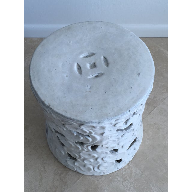 """Chinese """"Cloud"""" Garden Seat For Sale In West Palm - Image 6 of 11"""