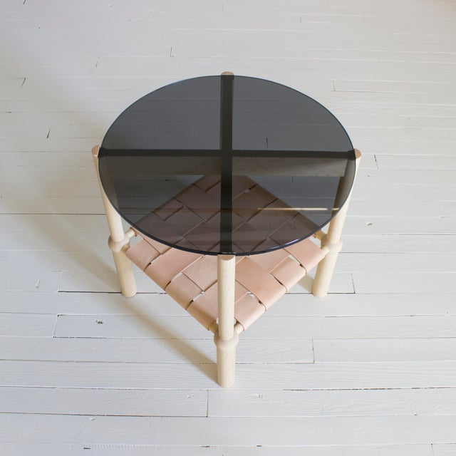 Contemporary Mae Side and Accent Table For Sale - Image 3 of 8