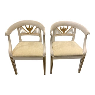18th Century Neoclassical Chairs- A Pair For Sale