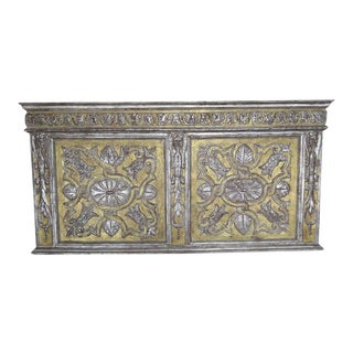 19th Century Italian Gold and Silver Gilt Panel For Sale