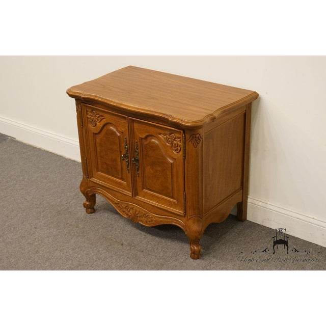 """French Lexington Furniture Chateau Latour Collection French Country 30"""" Nightstand For Sale - Image 3 of 13"""