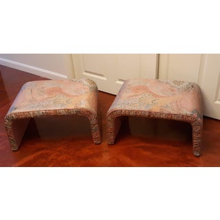 Waterfall Benches- a Pair Preview