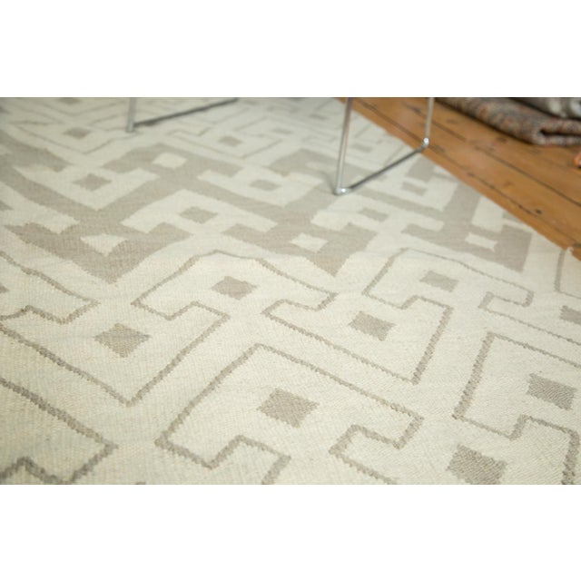 "Abstract Kilim Carpet - 6' X 7'10"" - Image 4 of 8"