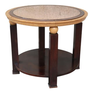 A Round Table in the Style of Jacques Adnet, France 40'