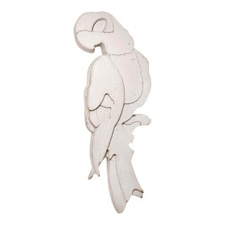 Large Scale Rare Laminated Wood Parrot For Sale