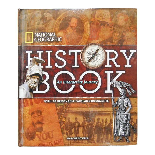 National Geographic History Book: An Interactive Journey For Sale