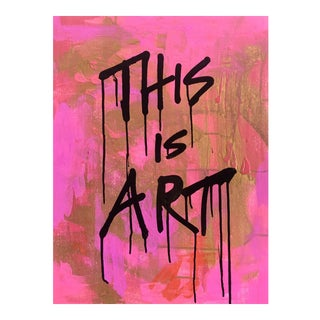 """""""This is Art"""" Acrylic Painting on Canvas Board"""
