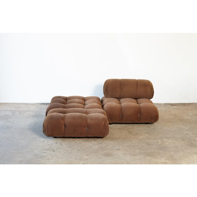 "Mario Bellini 1970s Vintage Mario Bellini for B&b Italia ""Camaleonda"" Modular Sofa For Sale - Image 4 of 10"