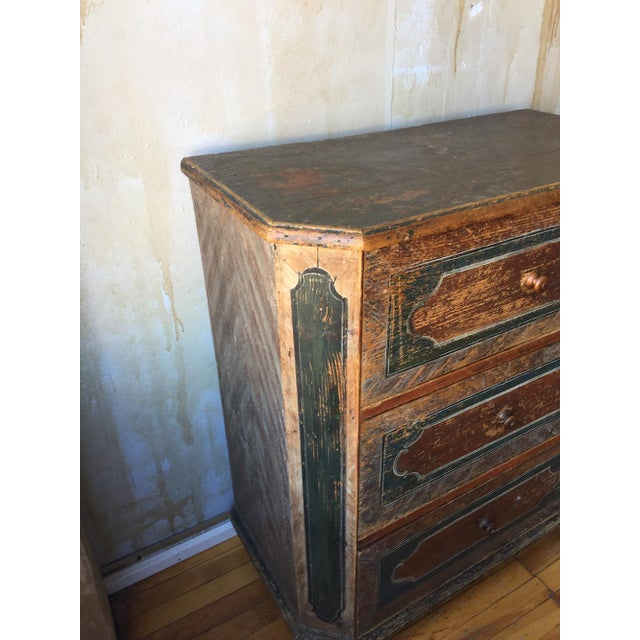 Paint Small Arte Povera Chest of Drawers For Sale - Image 7 of 11