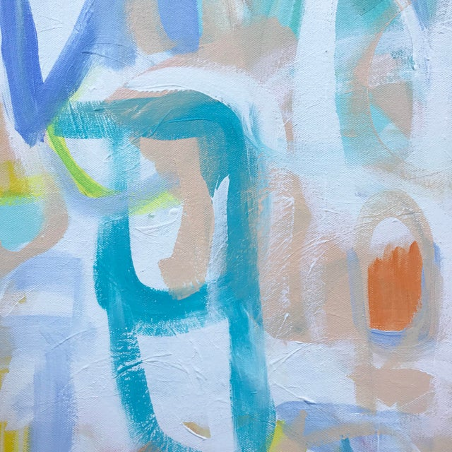 Abstract Loca Contemporary Abstract Painting For Sale - Image 3 of 6