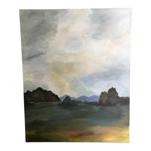 'Southern Clouds' Original Painting For Sale