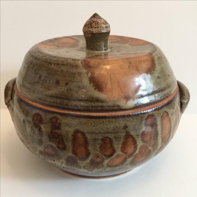 Decorative Ceramic Casserole - Image 2 of 6