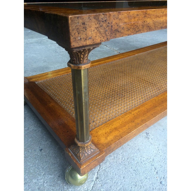 Vintage Hollywood Regency Coffee Table - Image 5 of 7