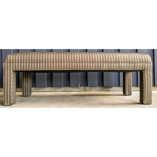 1980s Contemporary Parsons Bench For Sale - Image 12 of 12