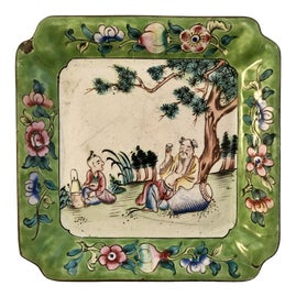 Image of Asian Antique Decorative Plates