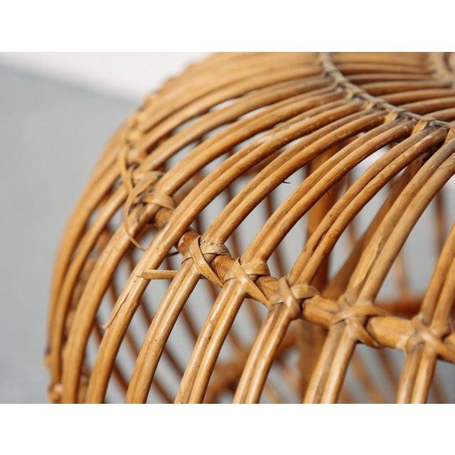 Franco Albini Mid Century Franco Albini Ottoman/Pouf/Side Table For Sale - Image 4 of 6
