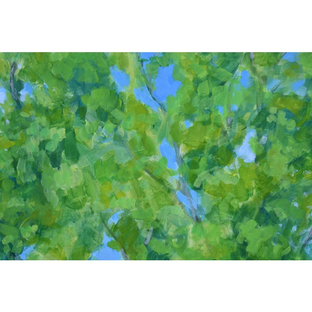 """2010s 2010s Contemporary Painting, """"Treetops Painting"""" by Stephen Remick For Sale - Image 5 of 12"""