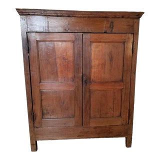 19th Century Antique Walnut Armoire For Sale