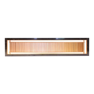 Japanese Lattice Ranma Sugi Cedar Transom Screen For Sale