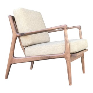 Contemporary Mid Century Style Chair For Sale