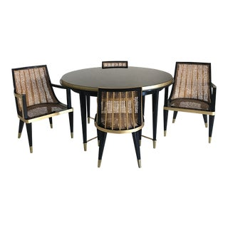 Mexican Modern Arturo Pani Dining Set For Sale