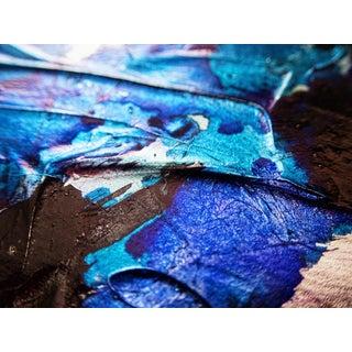 "Abstract Limited Edition Print on Metallic Paper & Acrylic Mount 24""x30"" - Festiva Macro 128"