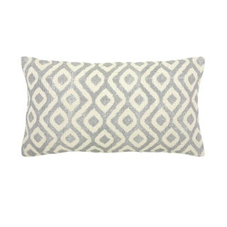 Bora Bora Small Silver Decorative Pillow