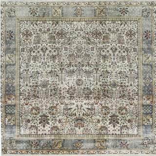 Traditional Hand Woven Rug - 10'2 X 10'3 For Sale