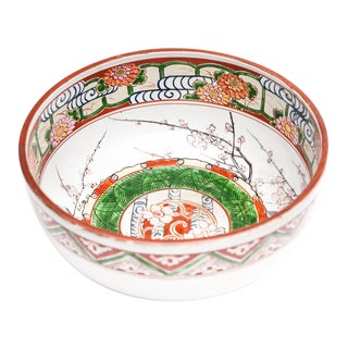 19th Century Large Japanese Imari Bowl from Lucia Lawrence's Collection For Sale