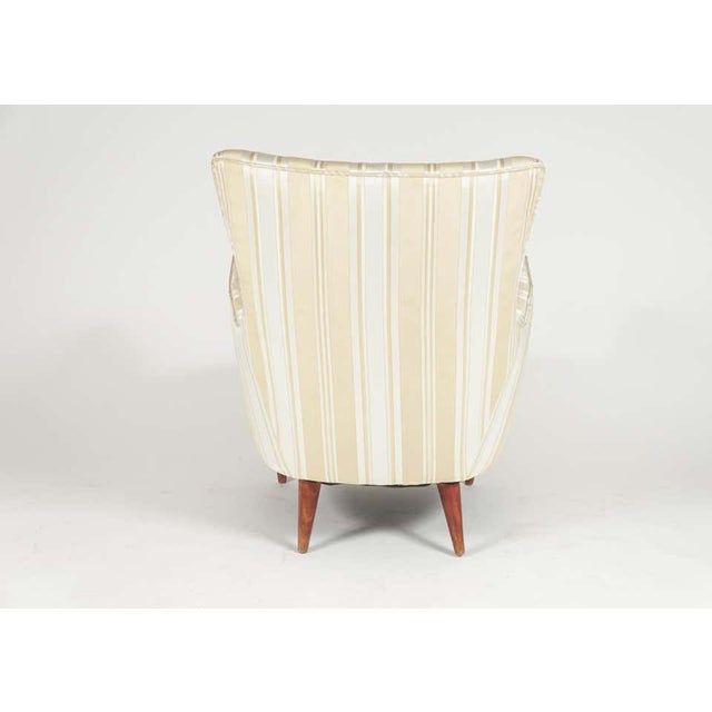 Sculptural Pair of 1950s Midcentury Italian Paolo Buffa Attr. Arm Lounge Chairs For Sale In New York - Image 6 of 11