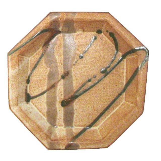Abstract Bamboo Art Pottery, Signed, Set of 3 For Sale - Image 4 of 7