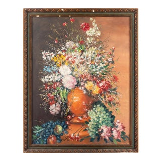 Cesare Riccardi American Still Life Painting, 1970 For Sale
