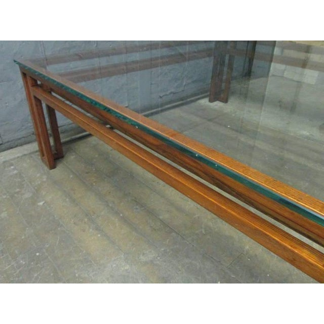 1960s Danish Mid-Century Modern Coffee Table For Sale - Image 5 of 6